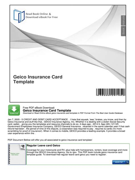 Search results templates/print free fake insurance cards gc56g elegant fake car insurance cards with proof auto insurance template 15721215. Geico Insurance Card - Fill Online, Printable, Fillable inside Free Fake Auto Insurance Card ...