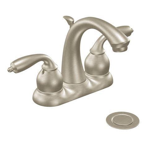Moen Bayhill Centerset Watersense Bathroom Sink Faucet