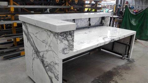new york marble reception front desk marble marella