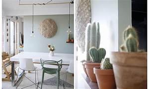 Peinture Vert De Gris : avant apr s mon mur et mon s jour changent de couleur ~ Melissatoandfro.com Idées de Décoration