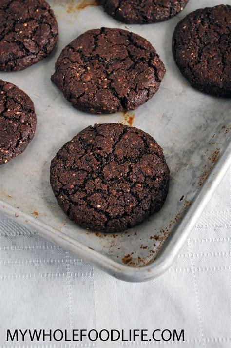 Chocolate Coffee Cookies (Grain Free) - My Whole Food Life
