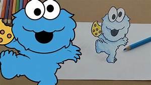 Cookie Monster Drawing | www.pixshark.com - Images ...