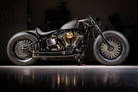 Custom Harley Softail Bobber