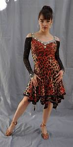 one of the leopard swarovski dress