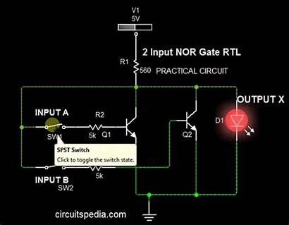 Gate Logic Nor Gates Circuit Nand Current