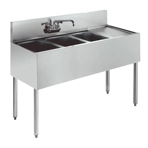 48 3 compartment sink krowne kr18 43l 48 quot 3 compartment sink w 10 quot w x 14 quot l bowl