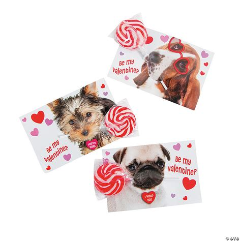 We did not find results for: Dog Valentine Exchange Cards with Lollipops
