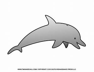 Dolphins clipart cartoon - Pencil and in color dolphins ...