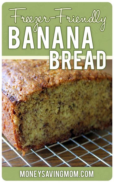 Freezer Banana Bread