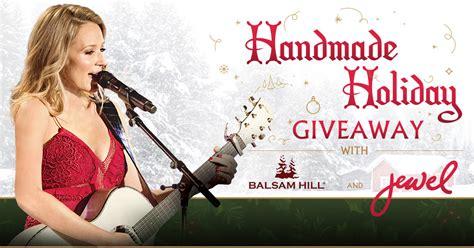 handmade holiday giveaway  balsam hill  jewel