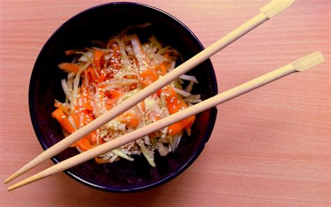 cuisine japonaise recette facile recette salade de chou à la japonaise pas chère et facile
