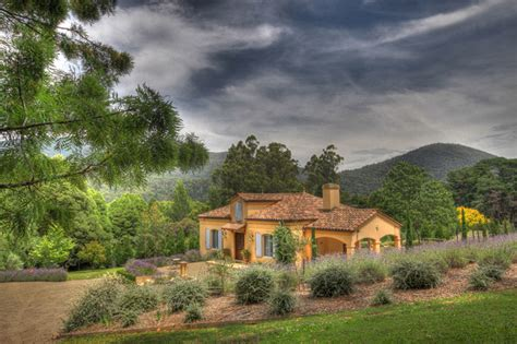 Provence style house Australia Mediterranean
