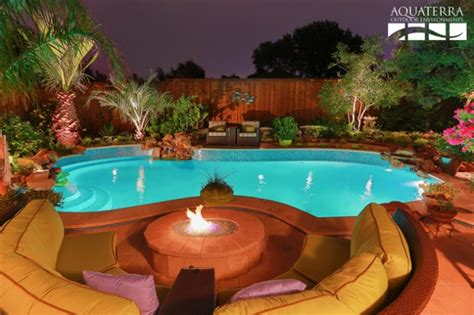 sophisticated outdoor fire pit designs