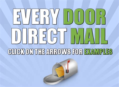 every door direct sacramento every door direct mail services eddm