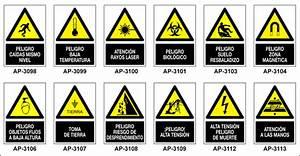 Señales de Advertencia con pictograma + texto MANUFACTURAS MEDRANO Galería General