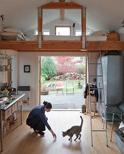 Small Garage Converted To Tiny Mini House iDesignArch