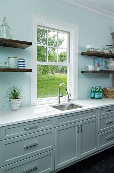 gray cabinet kitchen classic coastal cottage style home home bunch interior 1312
