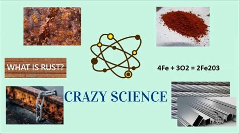 rust chemical reaction science crazy