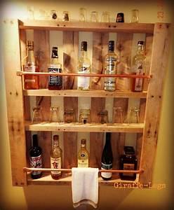 Alkohol Bar Für Zuhause : bar de pallet adega de vinho e outras ideias para seu barzinho ~ Markanthonyermac.com Haus und Dekorationen