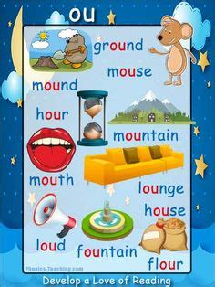 vowel digraph posters images english phonics