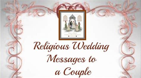 religious wedding messages   couple
