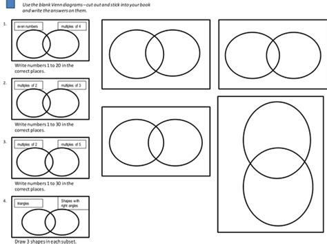 venn diagrams worksheets by cathyve teaching resources tes