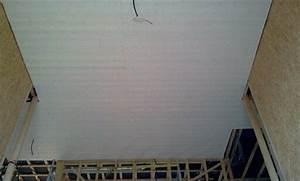 Comment Poser Du Lambris Pvc Au Plafond : comment peindre un plafond en bois ~ Dailycaller-alerts.com Idées de Décoration