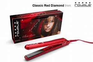 Royale Classic Diamond Hair Flat Iron