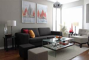 Graue Couch Wohnzimmer : wohnzimmer grau freshouse ~ Michelbontemps.com Haus und Dekorationen