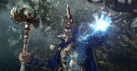trailers tease  high elf faction  total war