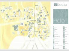 Map Of Belle Vue Appartments Picture of BelleVue Club