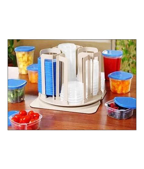 Buy Kitchen Organisers India by Ideal Home Kitchen Organiser 49 Pcs Buy At Best