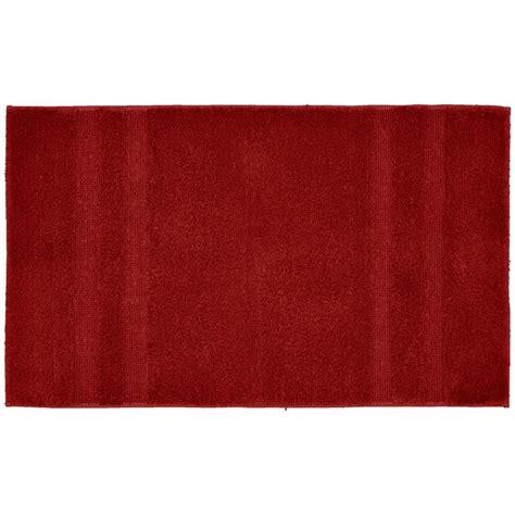 garland rug majesty cotton chili pepper 24 in x 40 in washable bathroom accent rug pri
