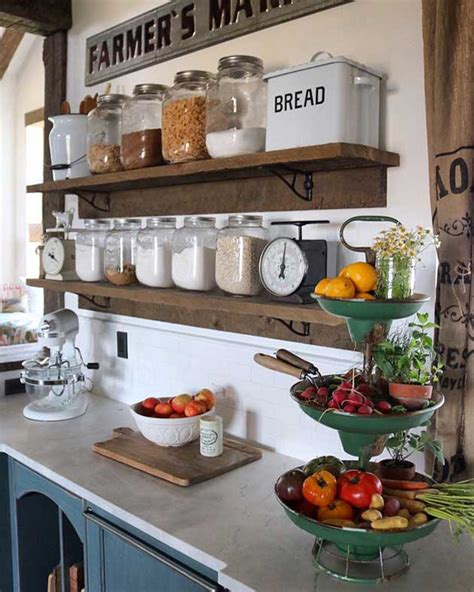 rustic kitchen canisters top 29 diy ideas adding rustic farmhouse feels to kitchen