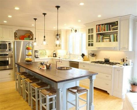 eat in kitchen island kitchen remodel with eat in island kitchen remodel pinterest