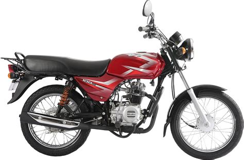 Bajaj Ct100b Red Pic