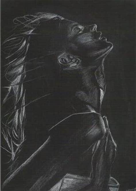 Dessin Sur Papier Noir Noir Akdt Folk Dessins Portraits Dumb Rising