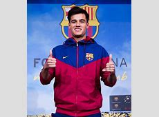 Barcelona unveil Philippe Coutinho at the Nou Camp Daily