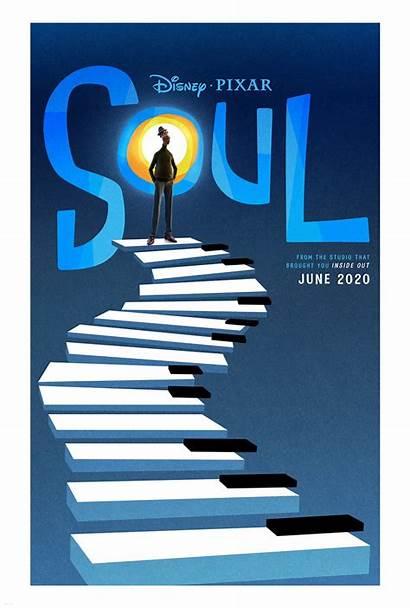 Soul Poster Pixar Disney Trailer