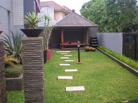 lihat model taman depan rumah minimalis type gambar