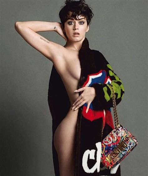 katy perry sexy katy perry goes naked for super sexy moschino caign ads