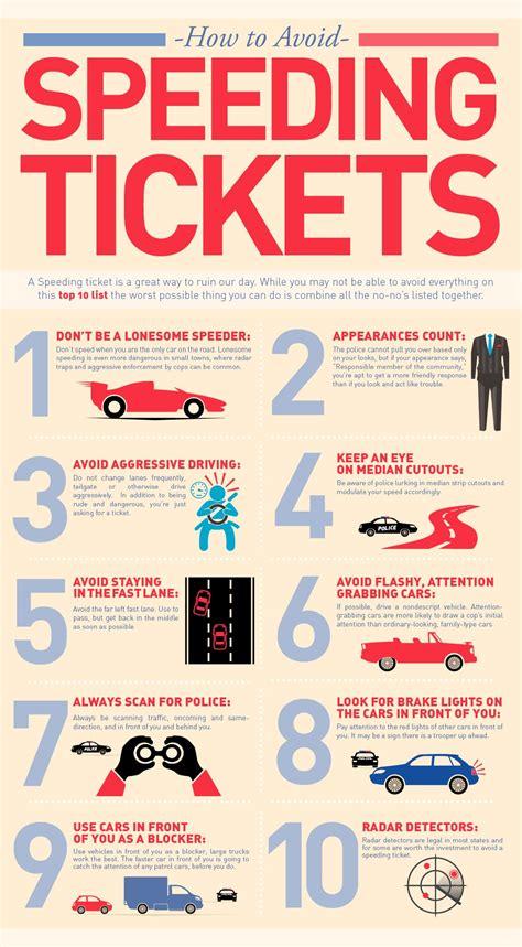 Speeding Ticket by How To Avoid A Speeding Ticket Infographic Brands That