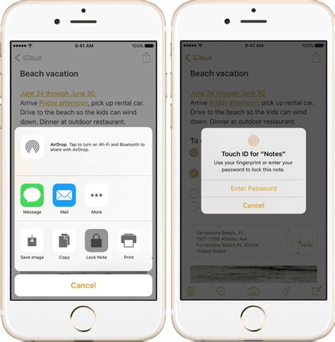 iphone notes app tutorial how to set password for iphone notes app the
