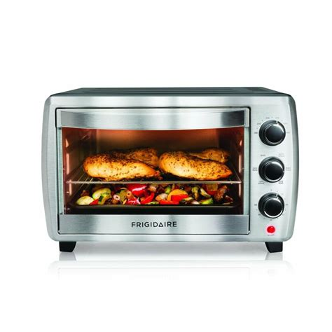 oven toaster frigidaire slice convection countertop setting kitchen ovens cooking rated stainless steel air fryer amazon toasters settings pizza oster
