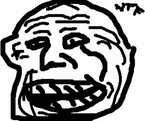 Troll face being trolled