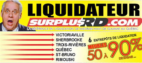 Surplus Rd Liquidation De Meubles