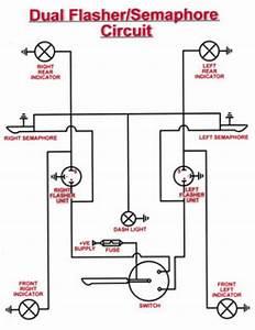 Diagram Over Blinkrel U00e6  U2013 Cykelhjelm Med Led Lys