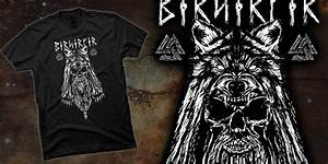 Viking Berserker - T-shirt design by KieronBDesigns - Mintees