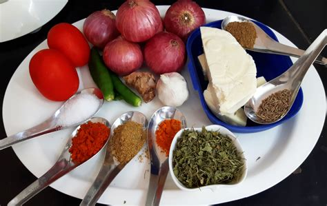 Paneer Cottage Cheese Do Pyaza Indian Cooking Manual