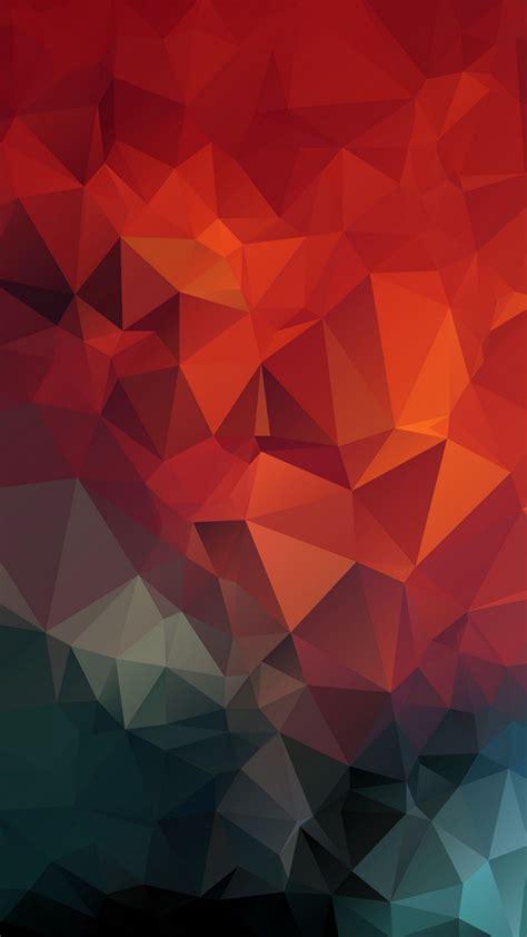 Download Wallpaper 1350x2400 Triangles Geometric Mosaic